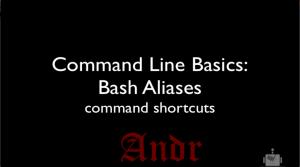 Как создать псевдонимы в Bash