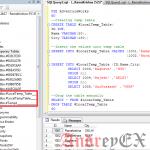 SQL - Временные таблицы