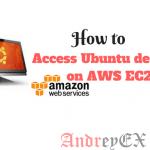 Как получить доступ к рабочему столу Ubuntu на AWS EC2