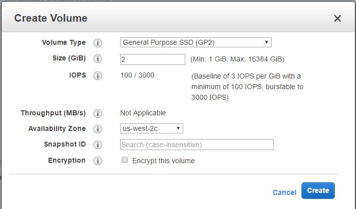 Как присоединить и монтировать том EBS на экземпляр ec2 Linux в AWS