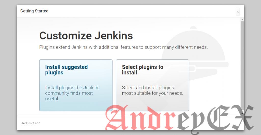 Настройка экрана Jenkins