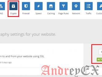 Настройка гибкого сертификата SSL на Cloudflare для WordPress
