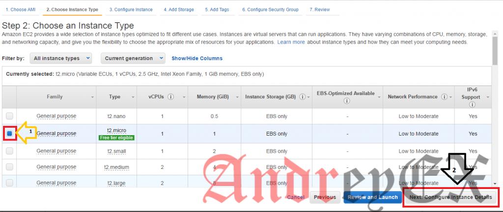 Настройка веб-сервера AWS