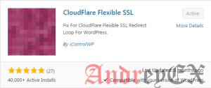 Плагин WordPress для CloudFlare Flexible SSL