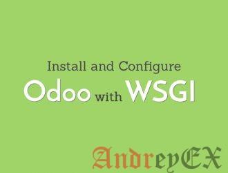 Установка и настройка Odoo с mod_wsgi