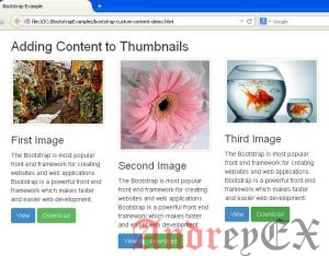 Bootstrap - Thumbnails
