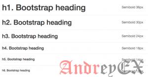 Bootstrap - Заголовок страницы