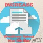 Как исправить «The uploaded file exceeds the upload_max_filesize directive in php.ini» в WordPress