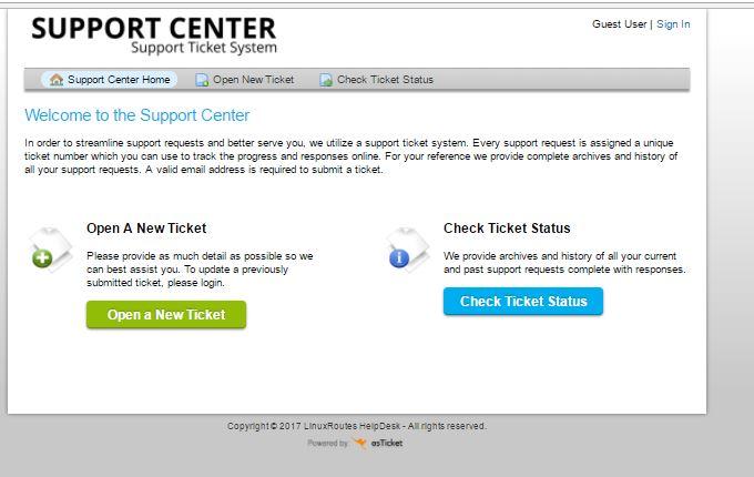 Как установить поддержку системы продажи билетов OsTicket Open Source в Linux