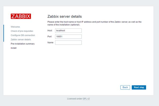 Подробнее о сервере Zabbix