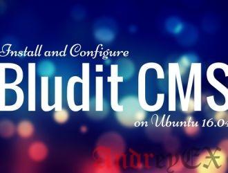 Установка Bludit на Ubuntu 16.04