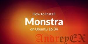 Как установить Monstra на Ubuntu 16.04 LTS