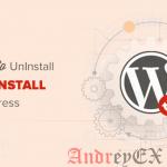 Как удалить и переустановить WordPress
