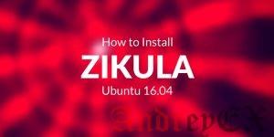Как установить Zikula на Ubuntu 16.04