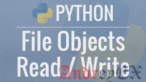 Python 3 - Файлы I/O