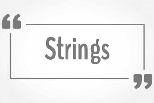 JavaScript - Строки