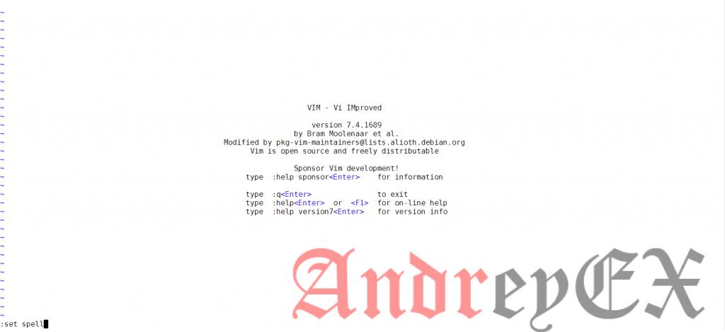 Как использовать Spell Check Feature в текстовом редакторе Vim