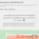 WordPress - Обновление версии
