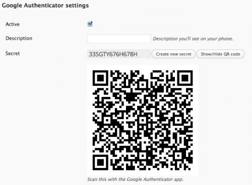 плагин Google Authenticator