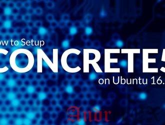 Установка concrete5 на Ubuntu 16.04