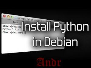 Как установить Python 3.6.4 на Debian 9