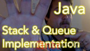 Программа Java для обратной очереди