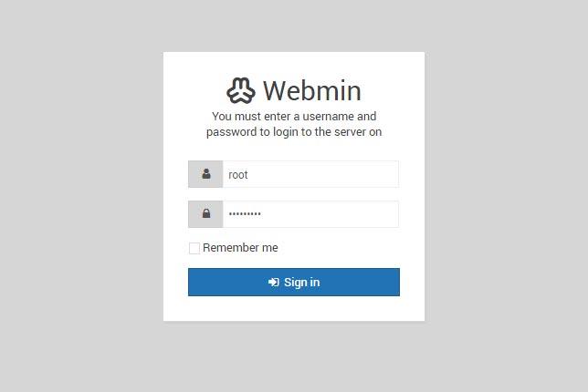 Как установить Webmin на Debian 9