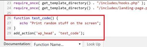 Как (безопасно) добавить код в functions.php в WordPress