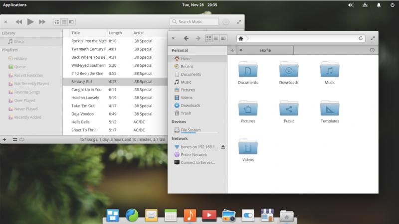 Elementary OS с Pantheon