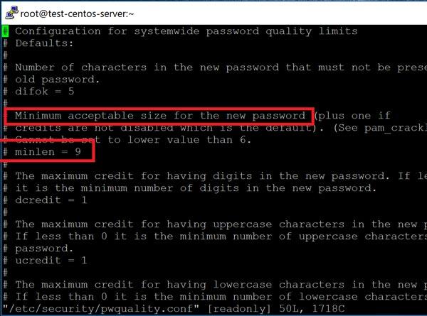 Как обеспечить качество пароля в Linux