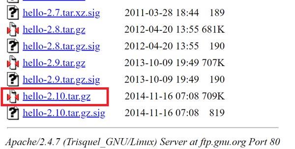 Как установить tar.gz в CentOS