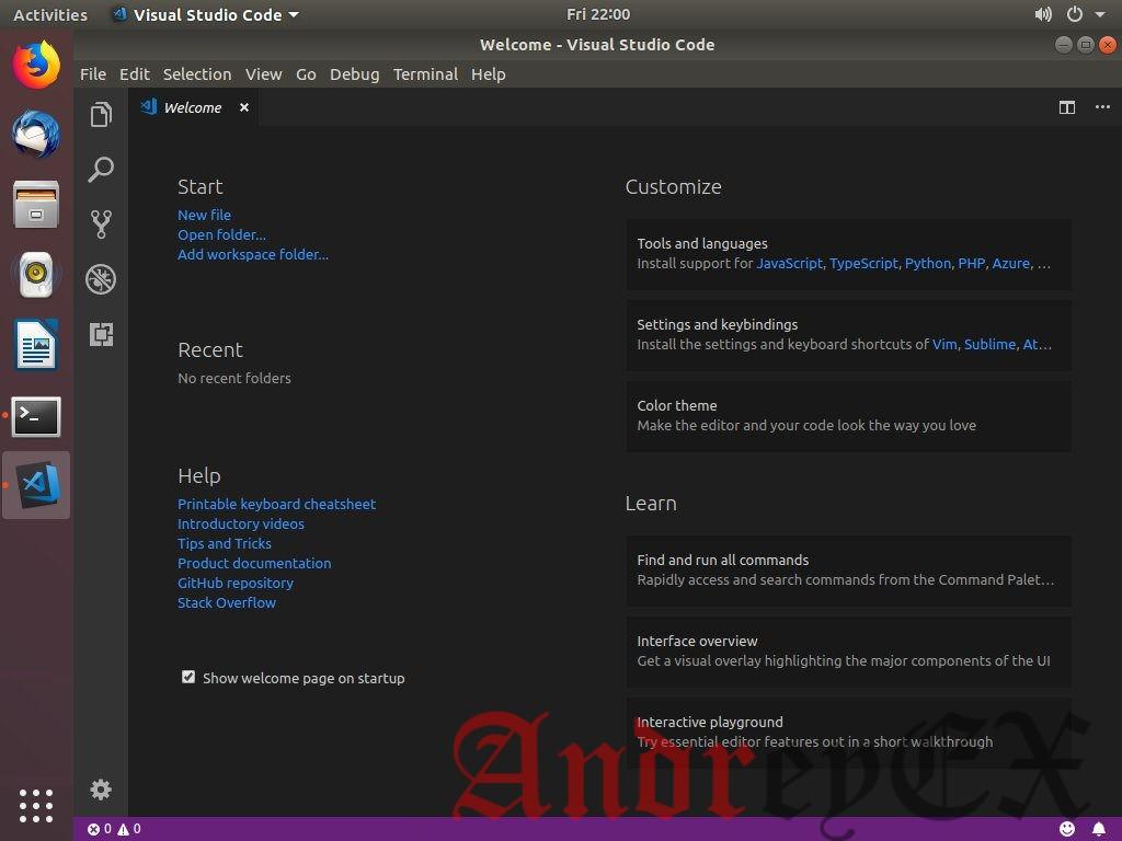 Как установить Visual Studio Code на Ubuntu 18.04
