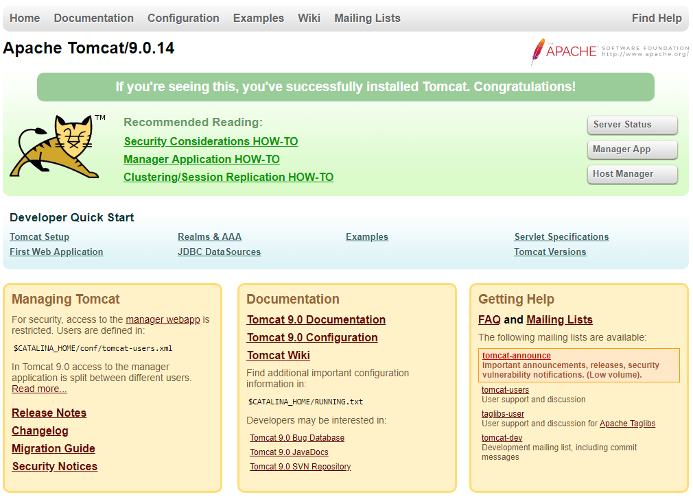 Как установить Tomcat в Ubuntu 18.04