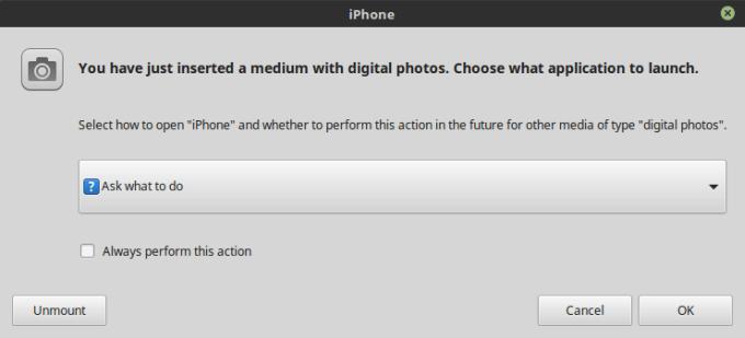 Как получить доступ к iPhone (6s) с iOS 11 в Linux