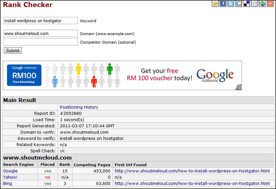 5 отличных сайтов для проверки рейтинга ключевых слов Google - SEOCentro