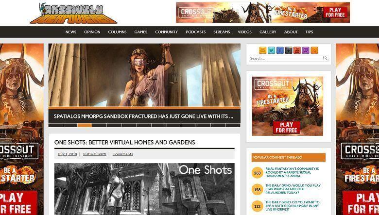 Топ 10 блогов MMO в Интернете сегодня