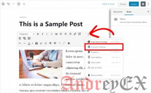 Как обновить старые посты (статьи) в WordPress с помощью редактора блоков Gutenberg