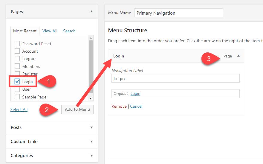 Как создать пользовательские структуры меню в WordPress