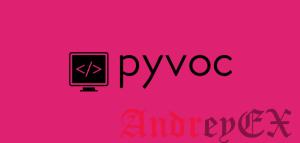 Pyvoc - инструмент для создания словаря и словаря командной строки
