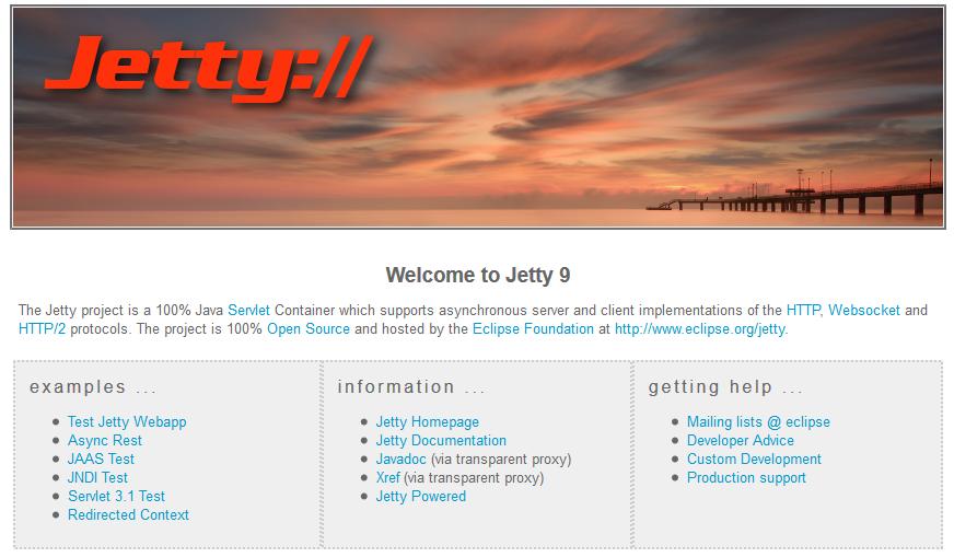 Доступ к установке Jetty