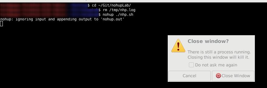 Команда Nohup в Linux позволяет запускать команды даже после выхода из системы