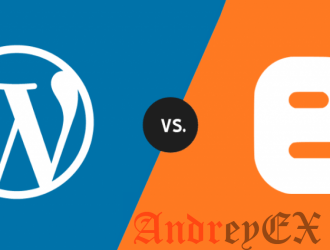 Blogger против WordPress