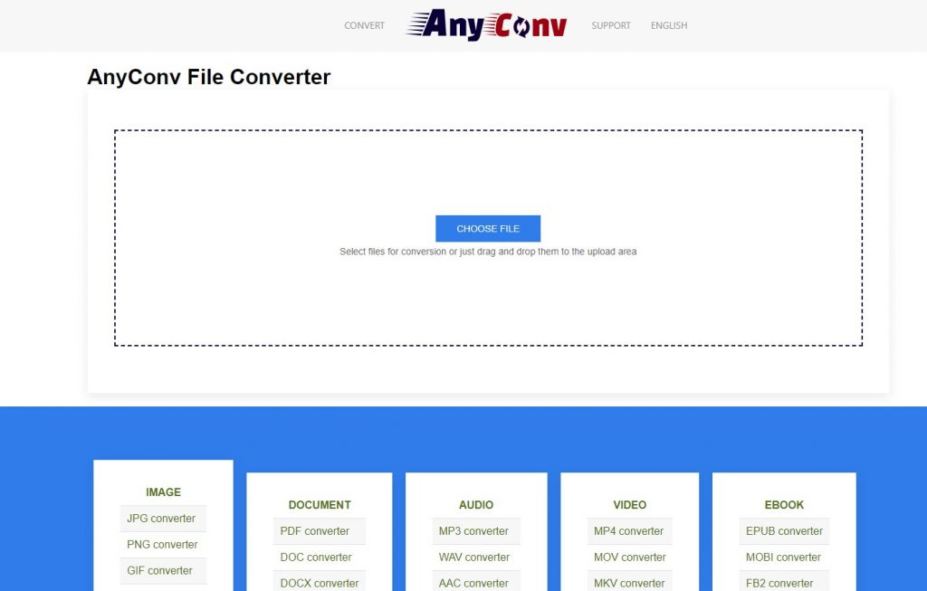 Any Conv - Online File Converter
