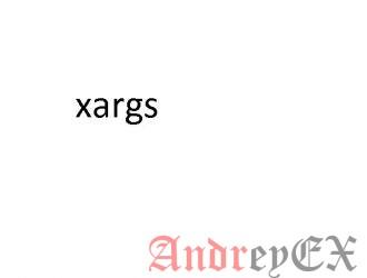 Команда Xargs в Linux с примерами