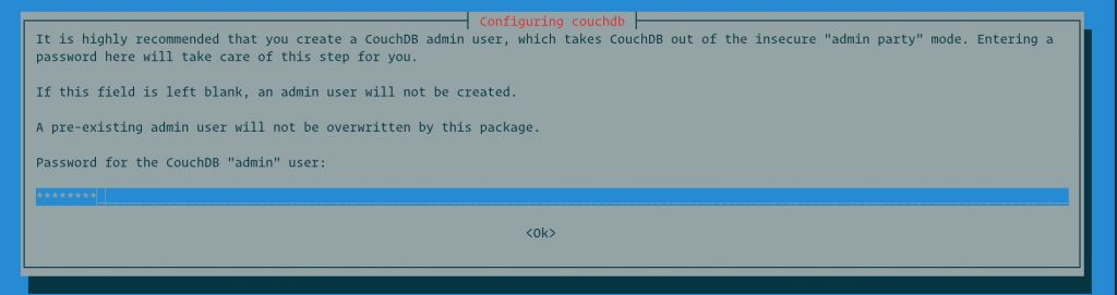 Как установить CouchDB на Debian 9