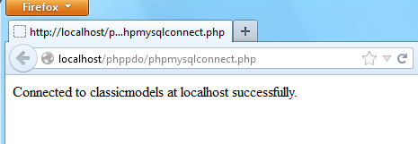 PHP MySQL. Подключение к базе данных MySQL