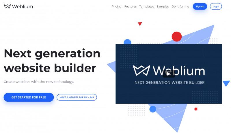 Обзор Weblium