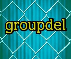 Удаление групп в Linux с помощью команды groupdel